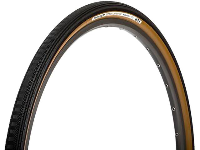 Panaracer GravelKing Semi Slick Plus Folding Tyre 700x38C TLC, negro/marrón